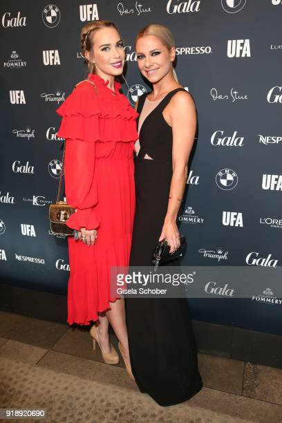 LaraIsabelle Rentick and Valentina Pahde during the Berlin Opening Night by GALA and UFA Fiction at Das Stue on February 15 2018 in Berlin Germany