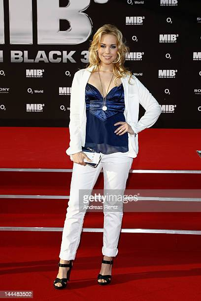 LaraIsabelle Rentinck arrives for the Men In Black 3 Germany Premiere at O2 World on May 14 2012 in Berlin Germany