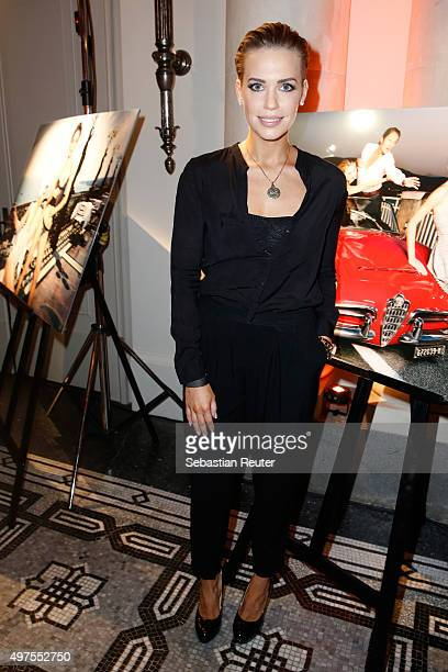 LaraIsabelle Rentinck attends Lambertz Fine Art Calendar 2016 presentation at Hotel De Rome on November 17 2015 in Berlin Germany