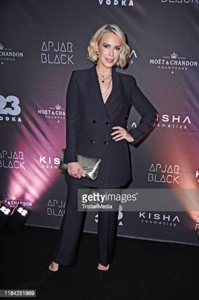LaraIsabelle Rentinck attends the 2 year anniversary event for Studio Apjar Black on November 23 2019 in Berlin Germany