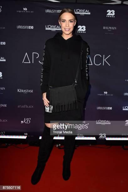LaraIsabelle Rentinck attends the Apjar Black studio opening on November 17 2017 in Berlin Germany