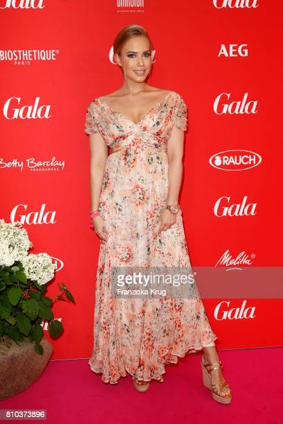 LaraIsabelle Rentinck attends the Gala Fashion Brunch during the MercedesBenz Fashion Week Berlin Spring/Summer 2018 at Ellington Hotel on July 7...