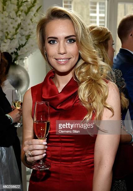 LaraIsabelle Rentinck attends the GALA Fashion Brunch Summer 2015 at Ellington Hotel on July 10 2015 in Berlin Germany