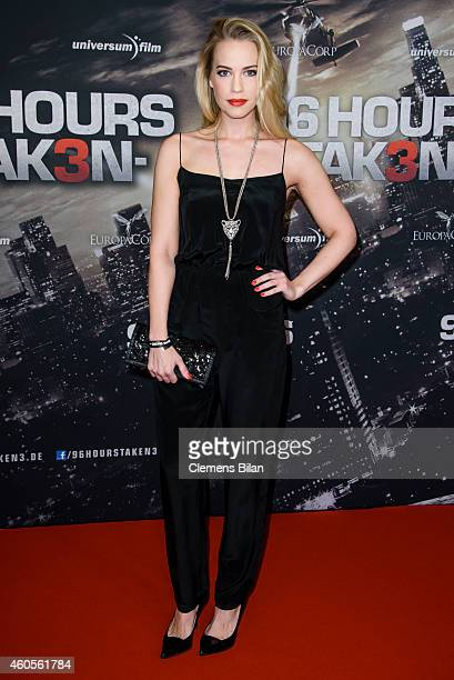 LaraIsabelle Rentinck attends the premiere of the film '96 Hours Taken 3' at Zoo Palast on December 16 2014 in Berlin Germany