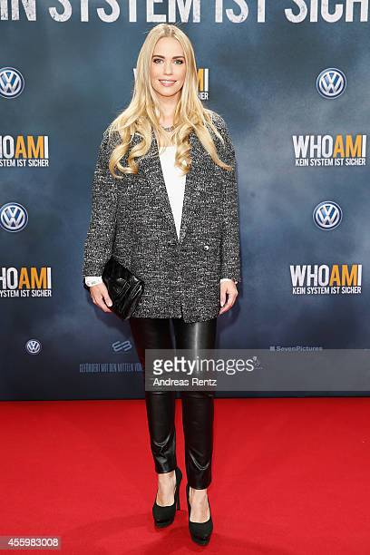 LaraIsabelle Rentinck attends the premiere of the film 'Who am I' at Zoo Palast on September 23 2014 in Berlin Germany