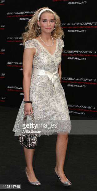 "Lara-Isabelle Rentinck during ""Spider-Man 3"" Berlin Premiere at Cinestar Cinema Berlin in Berlin, Berlin, Germany."