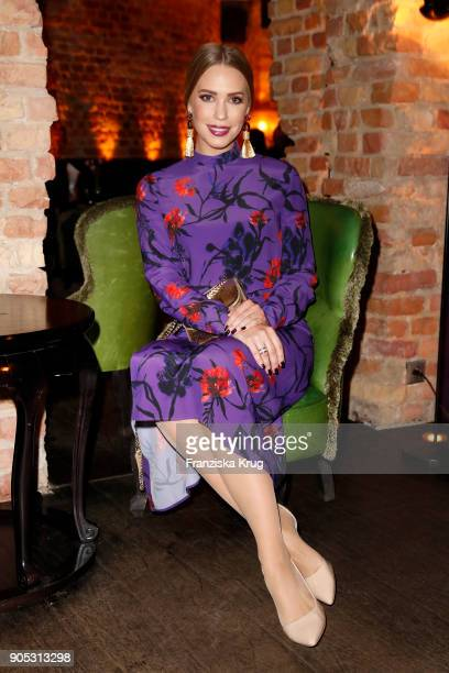 LaraIsabelle Rentinck during the Bunte New Faces Night at Grace Hotel Zoo on January 15 2018 in Berlin Germany
