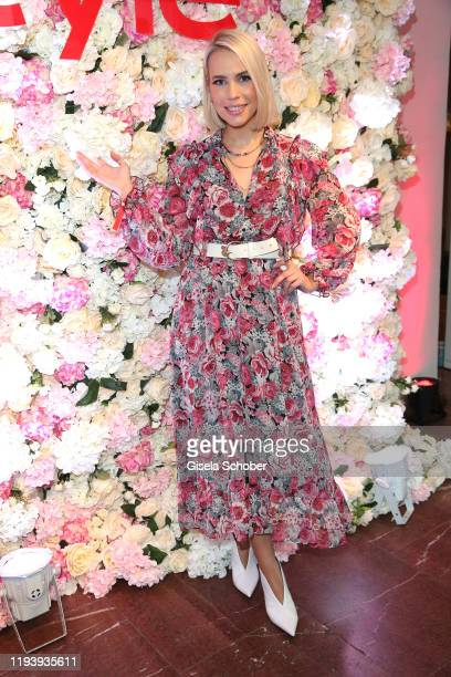 LaraIsabelle Rentinck during the Instyle Lounge event during Berlin Fashion Week Autumn/Winter 2020 at Cafe Moskau on January 15 2020 in Berlin...