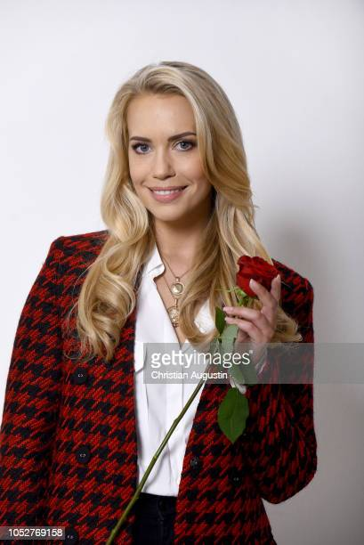 LaraIsabelle Rentinck poses during the photo call for the TV show 'Rote Rosen' at Luna Studios on October 22 2018 in Hamburg Germany