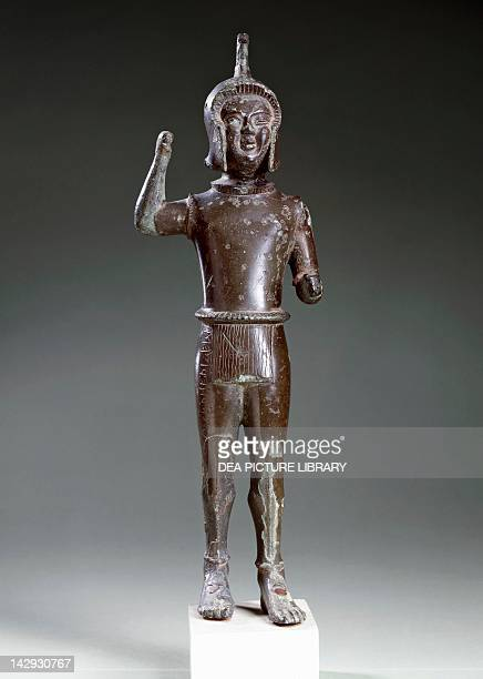 Laran in bronze from Ravenna Etruscan Civilization 540420 BC Leida Rijksmuseum Van Oudheden