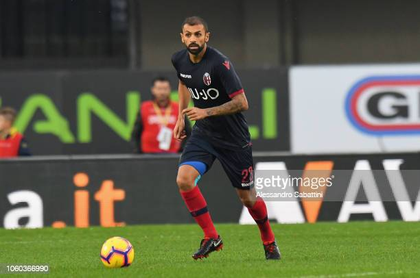 Larangeira Danilo of Bologna FC in action during the Serie A match between Chievo Verona and Bologna FC at Stadio Marc'Antonio Bentegodi on November...
