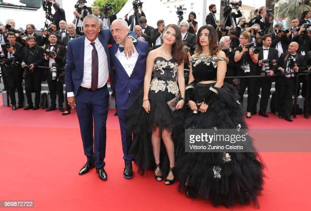 Larbi Naceri Samy Naceri and guests attend the screening of The Wild Pear Tree during the 71st annual Cannes Film Festival at Palais des Festivals on...
