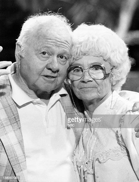 GIRLS Larceny and Old Lace Episode 21 Pictured Mickey Rooney as Rocco Estelle Getty as Sophia Petrillo
