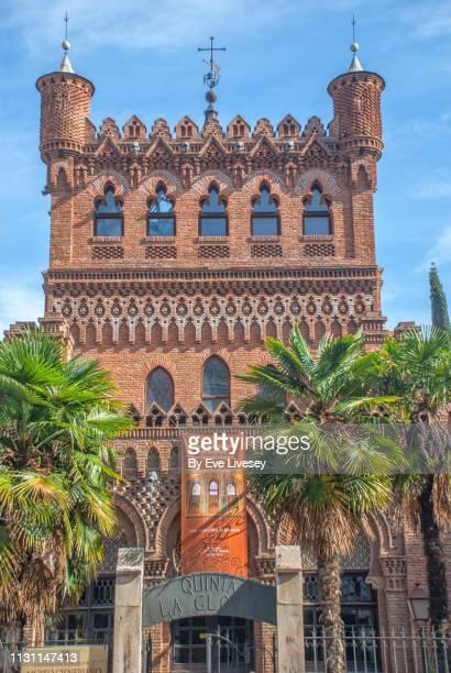 laredo palace facade - alcala de henares stock pictures, royalty-free photos & images