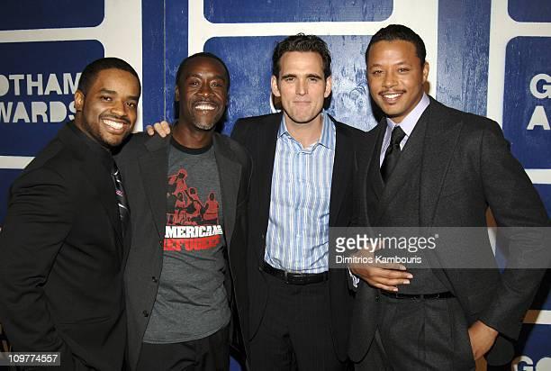 Larenz Tate, Don Cheadle, Matt Dillon and Terrence Howard