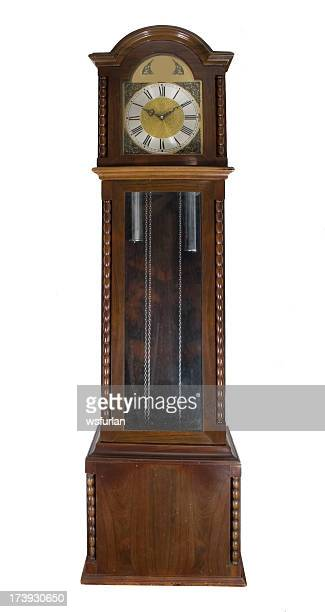 Large antique grandfather clock