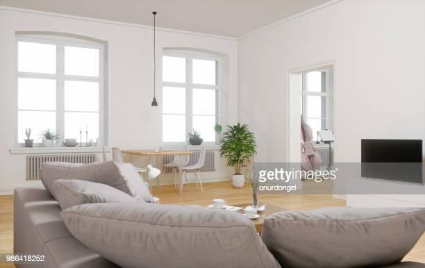 Intérieur grand appartement