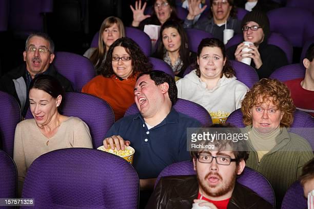 Grande pubblico in un cinema