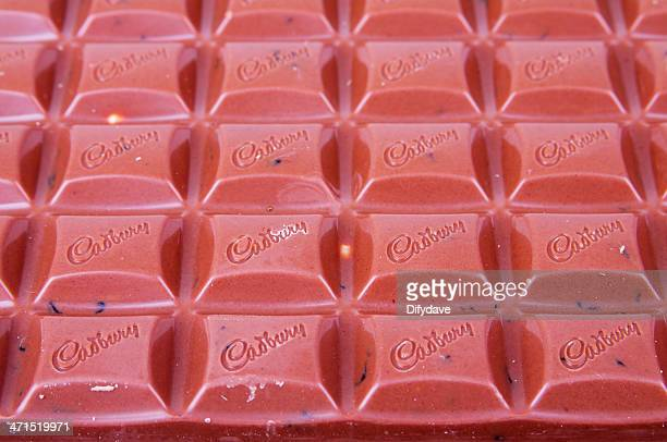 Large Bar Of Cadbury Fruit And Nut Chocolate