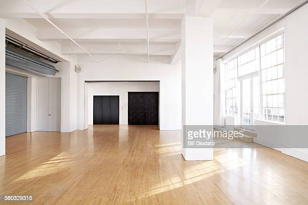 large bare room.