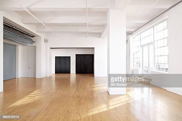 large bare room.