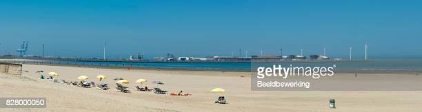 Grote stranden in Knokke