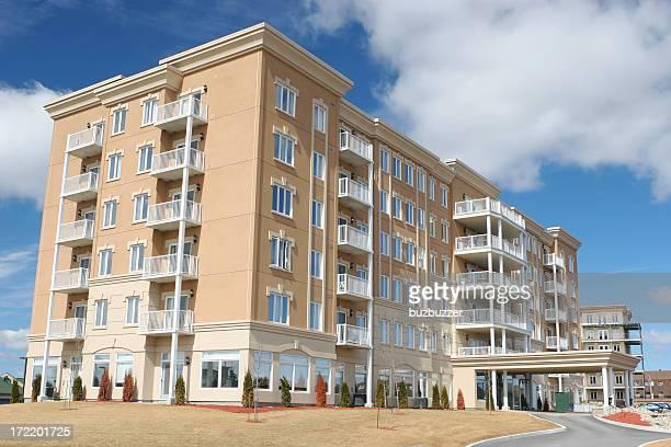 Large Beige Resort Hotel