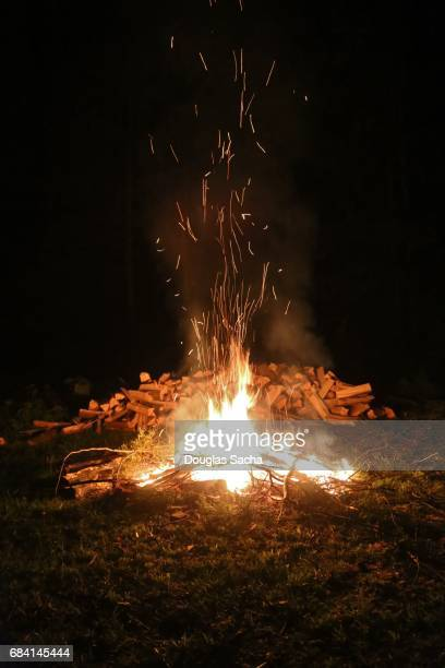 Large Bonfire