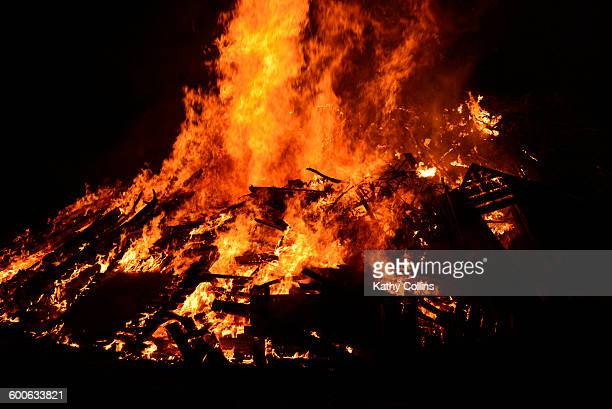 Large bonfire,furniture,pallets,timber