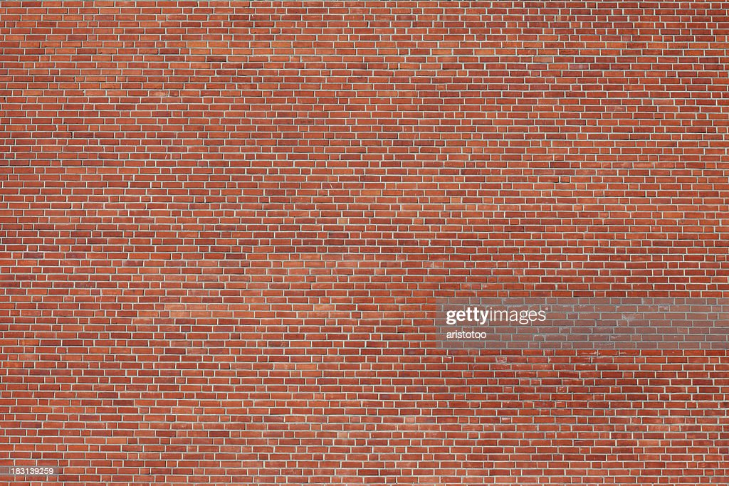 Large Brick Wall : Stock Photo