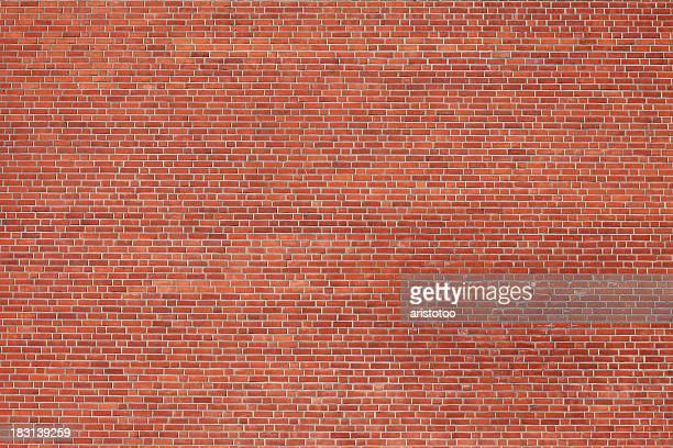 large brick wall - brick stock pictures, royalty-free photos & images