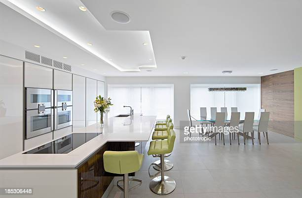 Large bright kitchen diner