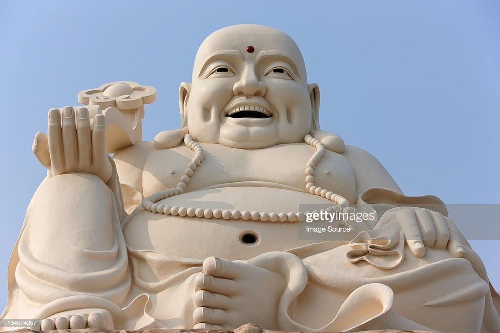 Large Buddha statue at Vung Tau, Ba Ria Province, Vietnam : Stock Photo