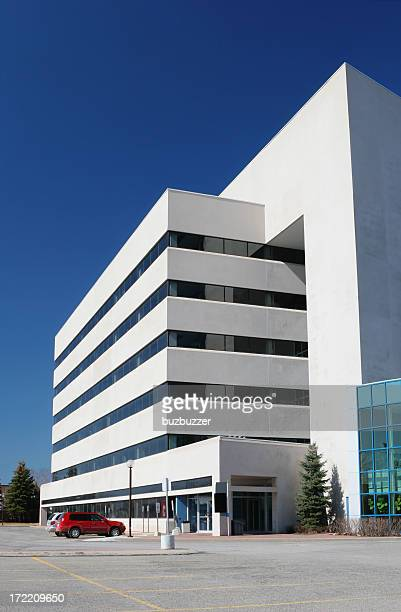 Large Bulky Architecture Building