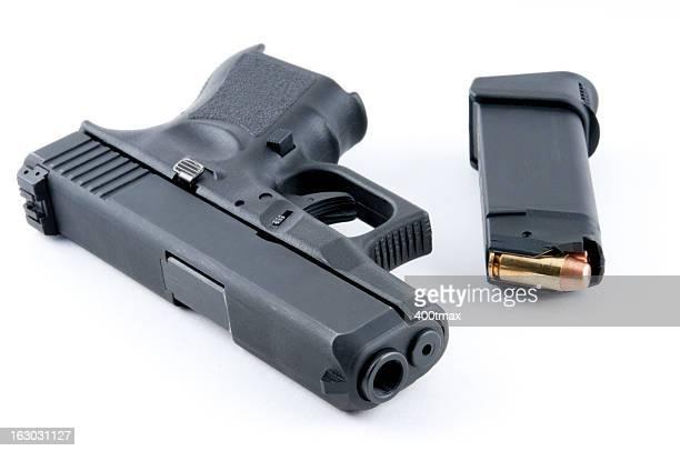 large caliber handgun - handgun stock pictures, royalty-free photos & images