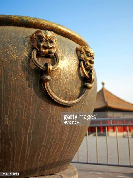 Large Cauldron in the Forbidden City