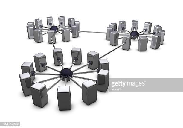 large chrome network