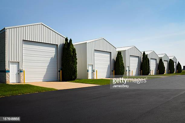 large commercial rental unit storage garage facilities - storage compartment stock pictures, royalty-free photos & images