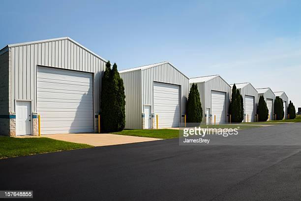 Large Commercial Rental Unit Storage Garage Facilities