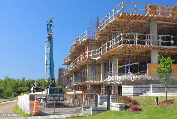 large construction project - buzbuzzer stock pictures, royalty-free photos & images
