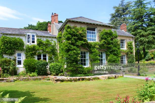 large country house - stately home stock pictures, royalty-free photos & images