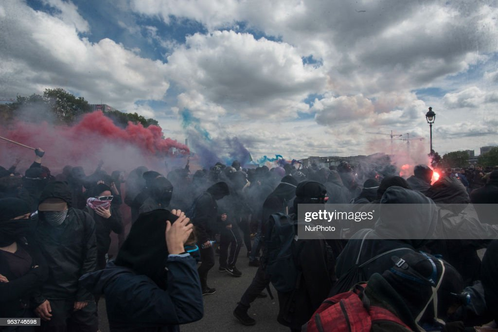 May Day rally in Paris : News Photo