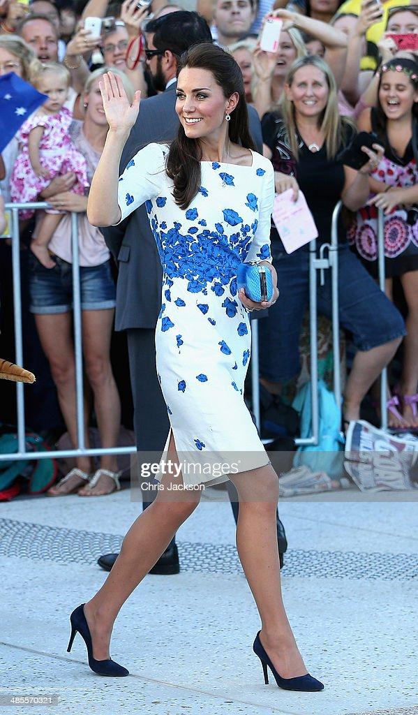 The Duke And Duchess Of Cambridge Tour Australia And New Zealand - Day 13 : News Photo