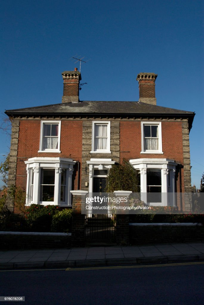 Large Detached Edwardian Townhouse Ipswich UK Pictures