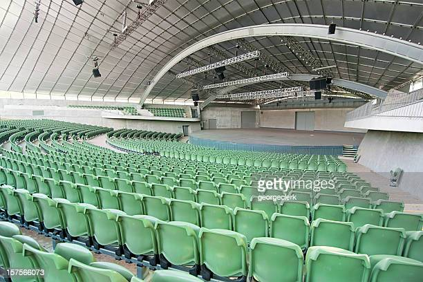 large empty auditorium - concert hall stock pictures, royalty-free photos & images
