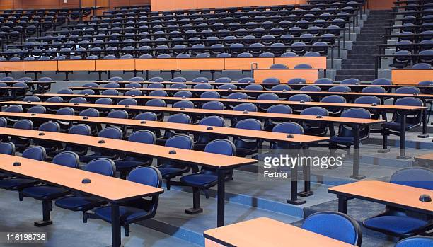 large empty lecture hall