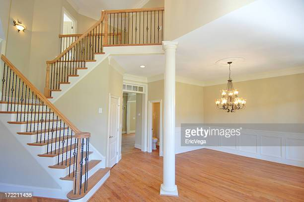 large foyer - nook architecture stock pictures, royalty-free photos & images
