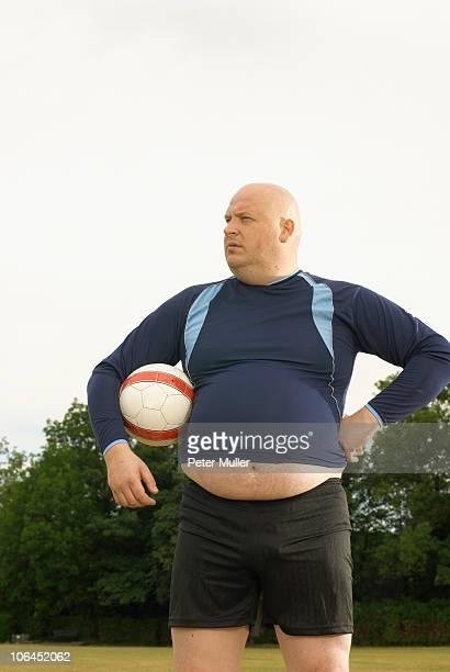 Large footballer