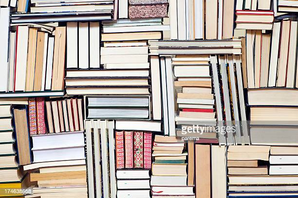 Large group of books