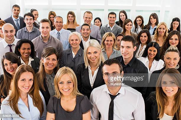 large group of business people. - large group of people stock pictures, royalty-free photos & images